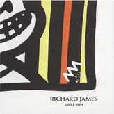 Richard James Happy Face Vi Silk Pocket Square