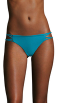 Mikoh Molokai Knotted Skinny String Side Bikini Bottom