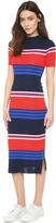 Sjyp Stripe Knit Dress