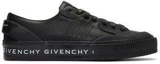 Givenchy Black Base Tennis Light Sneakers