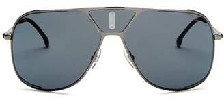 Carrera Unisex Brow Bar Aviator Sunglasses, 99mm
