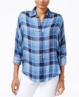 William Rast Aster Plaid Shirt