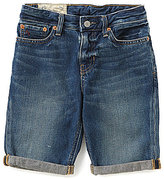 Ralph Lauren Big Boys 8-20 Rolled-Cuff Denim Shorts