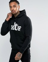 Huf X Snoopy Hoodie With Large Logo