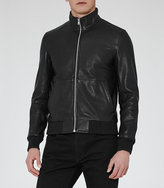 Reiss Bruno Funnel Neck Bomber Jacket