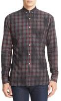 Lanvin Men's Extra Trim Fit Plaid Shirt