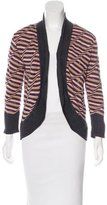 M Missoni Striped Merino Wool Cardigan