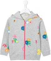 Stella McCartney Rebecca zip hoodie - kids - Cotton - 2 yrs