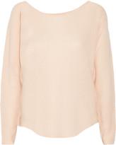 Joie Margeaux open-knit cashmere sweater