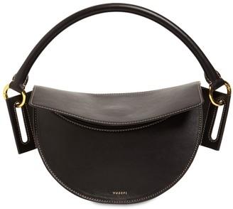 Yuzefi Dip Leather Top Handle Bag