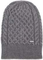 Diesel cable knit beanie