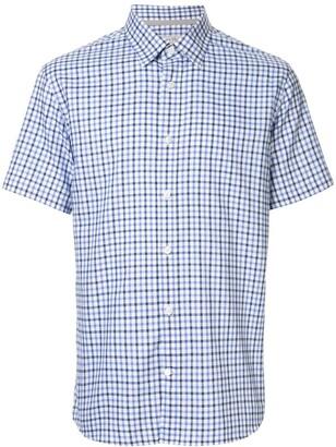 Gieves & Hawkes Check Short-Sleeve Shirt