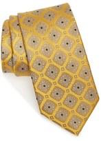 Nordstrom Men's Diamond Medallion Silk Tie