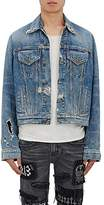 R 13 Men's Distressed Denim Jacket