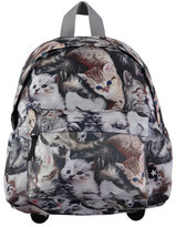 Molo Kids' Big Cat Backpack, Gray