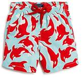 Vilebrequin Boys' Galaks Dolphin Print Swim Trunks - Little Kid