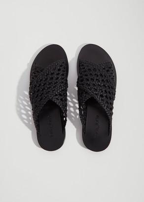 Forte Forte Braided Calfskin Sandal