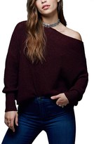 Free People Women's 'Alana' Pullover Sweater