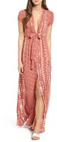 Tularosa Women's Joel Geo Print Maxi Dress
