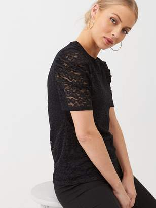 Very Lace Blouse - Black