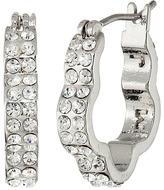 Marc by Marc Jacobs Diamonds and Daisies Daisy Window Mini Hoops Earrings