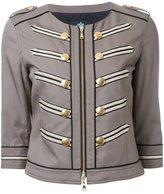 GUILD PRIME cropped military jacket - women - Tencel - 34