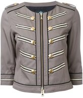 GUILD PRIME cropped military jacket
