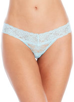 Jessica Simpson Two-Pack Bridal Collection Lace Thongs