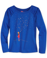Epic Threads Hero Kids by Mix and Match Star-Graphic Long-Sleeve T-Shirt, Little Girls (4-6X), Created for Macy's