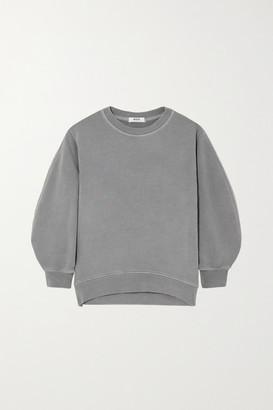 AGOLDE Thora Cotton-jersey Sweatshirt