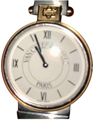 Van Cleef & Arpels White gold and steel Watches