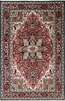 Ecarpetgallery Hand-knotted Royal Heriz Medallion Corners 9' x 5' 100% Wool area rug
