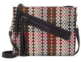 Vince Camuto Small Caol Leather & Suede Crossbody Bag