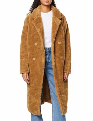 Urban Classics Women's Ladies Oversized Teddy Coat