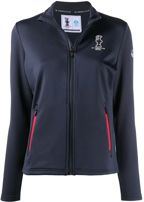 Zip-Up Fitted Jacket