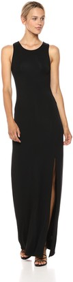 Cupcakes And Cashmere Women's Eldora Side Slit Maxi Dress