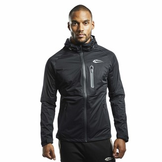 SMILODOX Premium Rain Jacket | Slim Fit Sport Jacket for Men | Waterproof & Breathable Running Jacket Ideal for Sports Leisure & Outdoor - Resistance