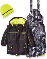 iXtreme Little Boys' Toddler Colorblock and Print Better Snowsuit