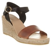 Andre Assous Bliss A Leather Wedge Espadrille.