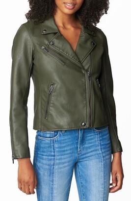 Blank NYC Faux Leather Moto Jacket