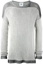 Lost & Found Rooms - crew neck jumper - men - Cotton - S