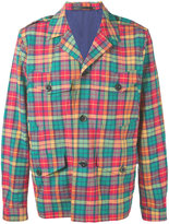Paul Smith checked shirt jacket - men - Cotton/Nylon/Spandex/Elastane - S