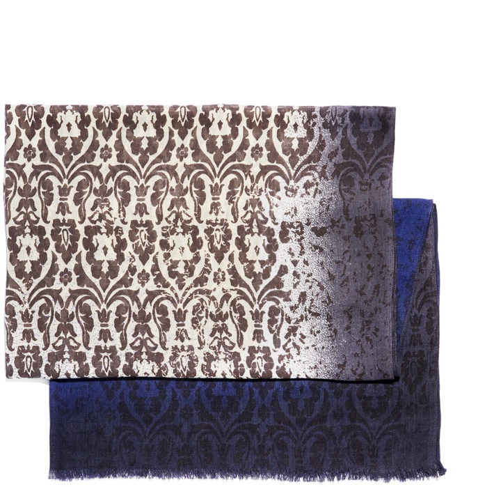 Vince Camuto Ombre Border Scroll Scarf