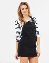 Mng Classic Short Dungaree Dress