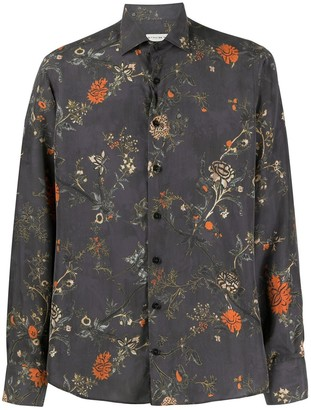 Etro Floral Print Relaxed Fit Shirt