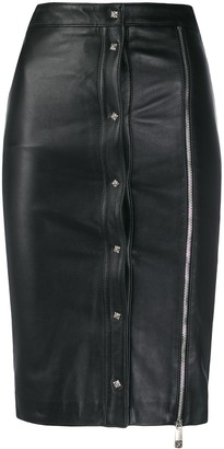 John Richmond Dombi zipped skirt