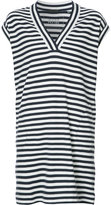 ATM Anthony Thomas Melillo striped T-shirt dress - women - Cotton - S