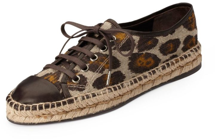 Theory Paula Espadrille in Anguilla Leather