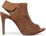 Pedro Garcia Sofia perforated suede platform sandals