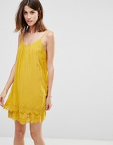Vila Lace Hem Dress